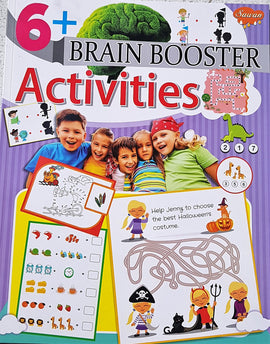 6 Brain Booster Activities Books