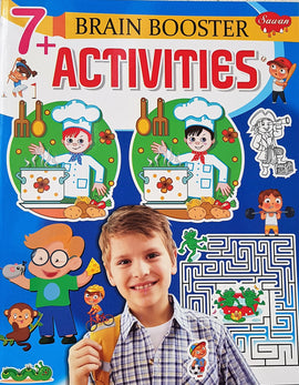 7 Brain Booster Activities Books