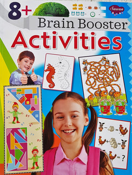 8 Brain Booster Activities Books