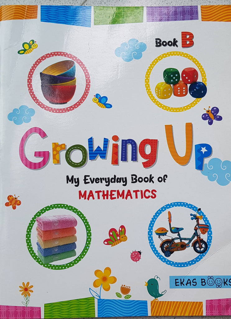 Growing Up My Everyday Book Of Mathematics B - English