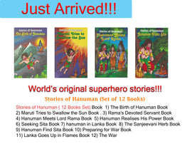 Stories of Hanuman ( 12 Books Set)