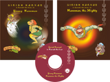 Young Hanuman and Hanuman the Mighty (2 Books + 1 Audio CD)