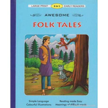 Large Print 6 In 1 Awesome Folk Tales