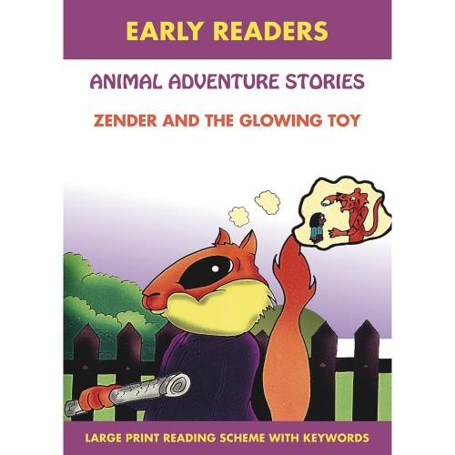 Early Readers- Animal Adventure Stories - Zender And The Glowing Toy