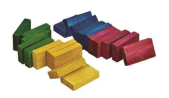 Colourful Wooden Chews