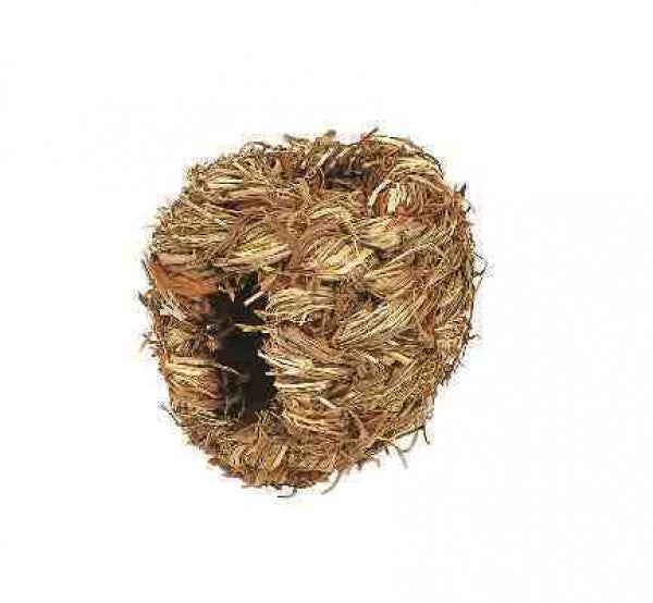 Natural Grass Ball Chew Toy - Small (10cm)