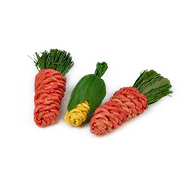 Mini Woven Corn Toy - 3 Pack