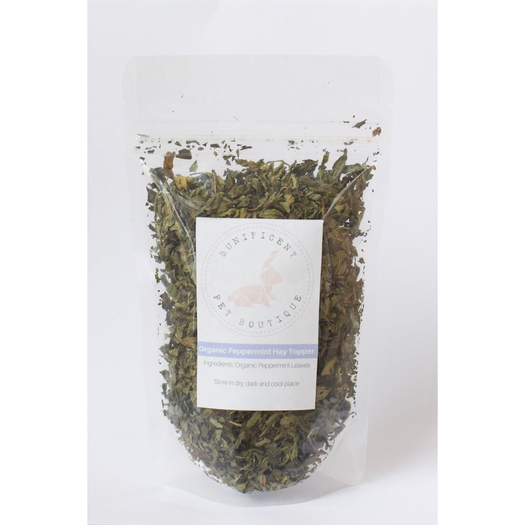 Organic Peppermint Hay Topper