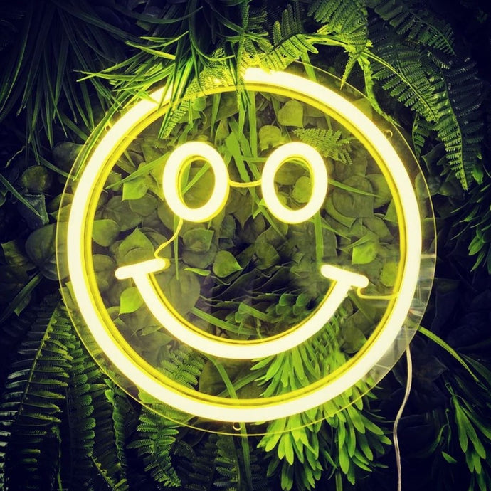 Smiley Face Neon