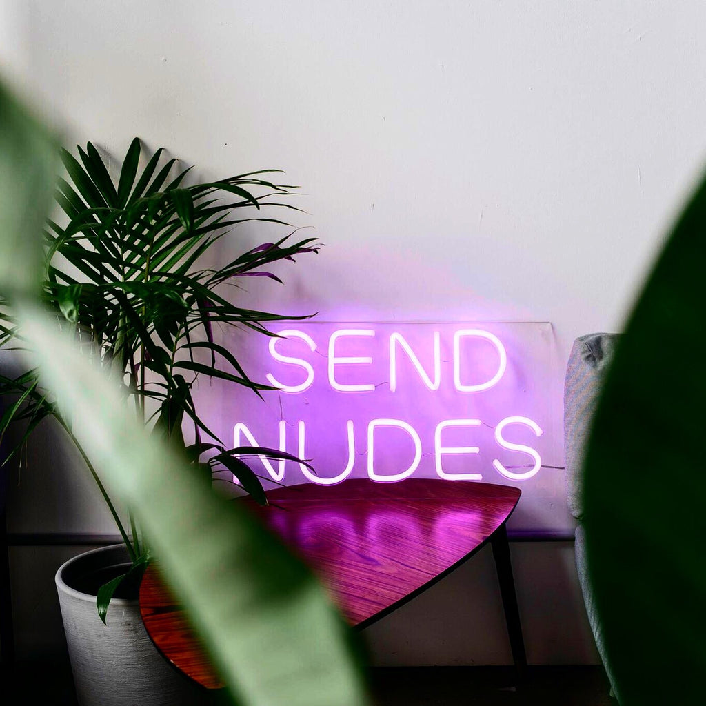 Yeah Neon Send Nudes Neon Light Sign