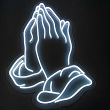 Load image into Gallery viewer, Praying Hands Neon