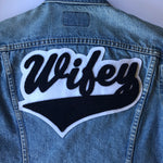 Wifey • Wedding Chenille Patch