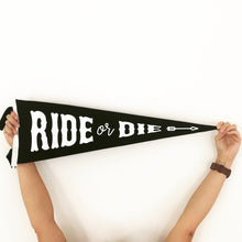 Load image into Gallery viewer, Ride or Die • Wedding Pennant