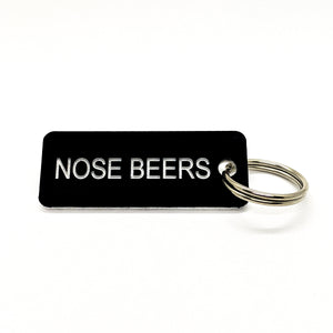 NOSE BEERS • Key Tag