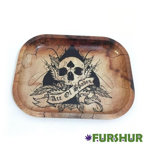 Rolling Tray - Ace of Spades Skull