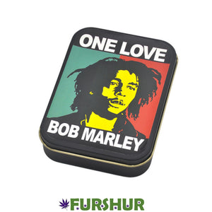 King Size Metal Tobacco Box - One Love