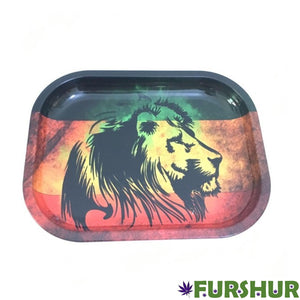 Rolling Tray - King Lion