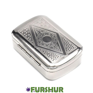 Hornet Brand Luxury Metal Tobacco Box