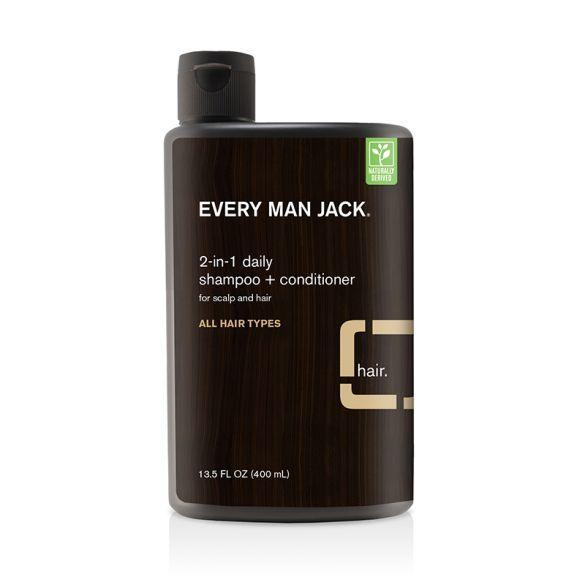 Every Man Jack 2-in-1 Daily Shampoo + Conditioner | Sandalwood