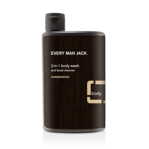Every Man Jack 2-in-1 Body Wash and Facial Cleanser | Sandalwood