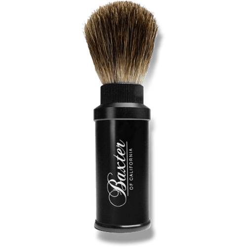 Baxter Aluminum Travel Brush