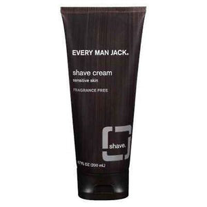 Every Man Jack Shave Cream (Travel Size 1 OZ) | Fragrance Free