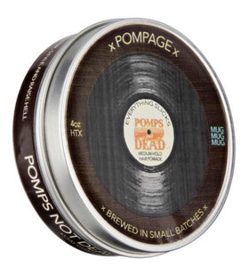 Pomps Not Dead Pompage Medium Hold Pomade 4OZ