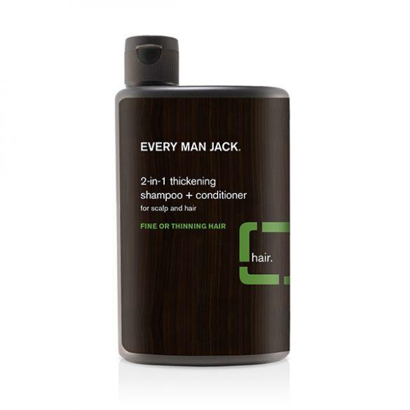 Every Man Jack 2-in-1 Thickening Shampoo