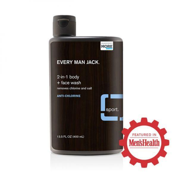 Every Man Jack 2-in-1 Body + Face Wash | Anti-Chlorine
