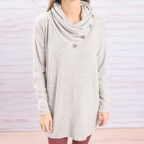 100% Cotton Fashion T-Shirt Loose - Long Sleeve