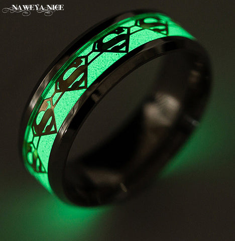 Glow In The Dark Ring - Superman
