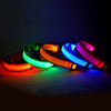Image of 6 Colors LED Dog collar - Adjustable Nylon size S to XL