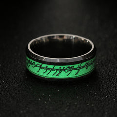 Glow In The Dark Ring - Lord Of The Ring