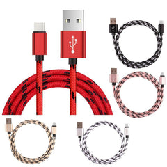 1/2/3M  5 Colors Usb Cable 2A USB-C USB 3.1 Type C