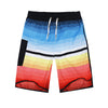 Image of Beach Shorts - Striped Quick Dry