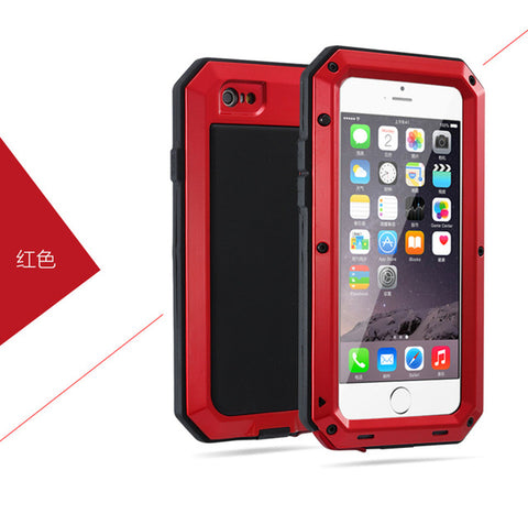 Aluminum Shockproof Case for Samsung & Iphone