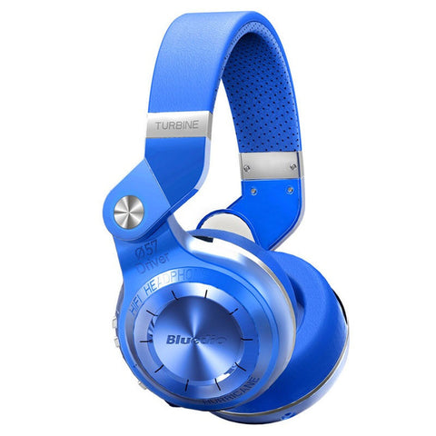 Original Bluedio T2+ Plus Wireless Bluetooth 4.1 Stereo Headphone Support TF Card & FM Stereo