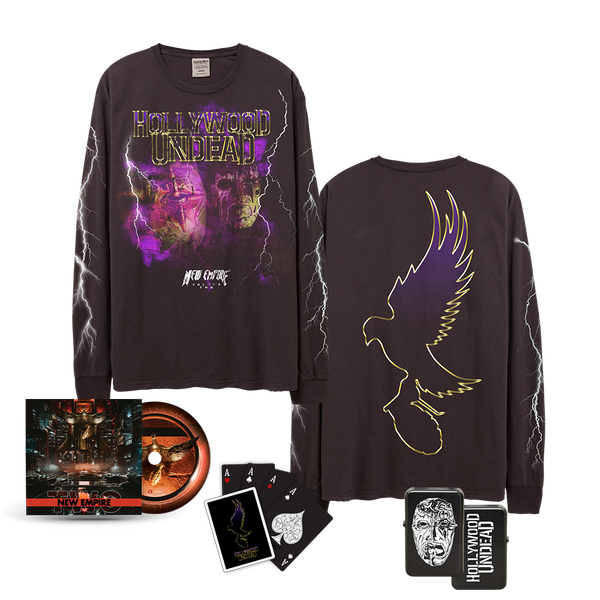 New Empire Vol. 2 Long Sleeve & CD Bundle