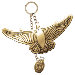 Dove Magnet Keychain