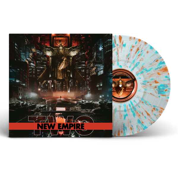 New Empire Vol. 2 - Clear Vinyl w/ Orange/Turquoise Splatter