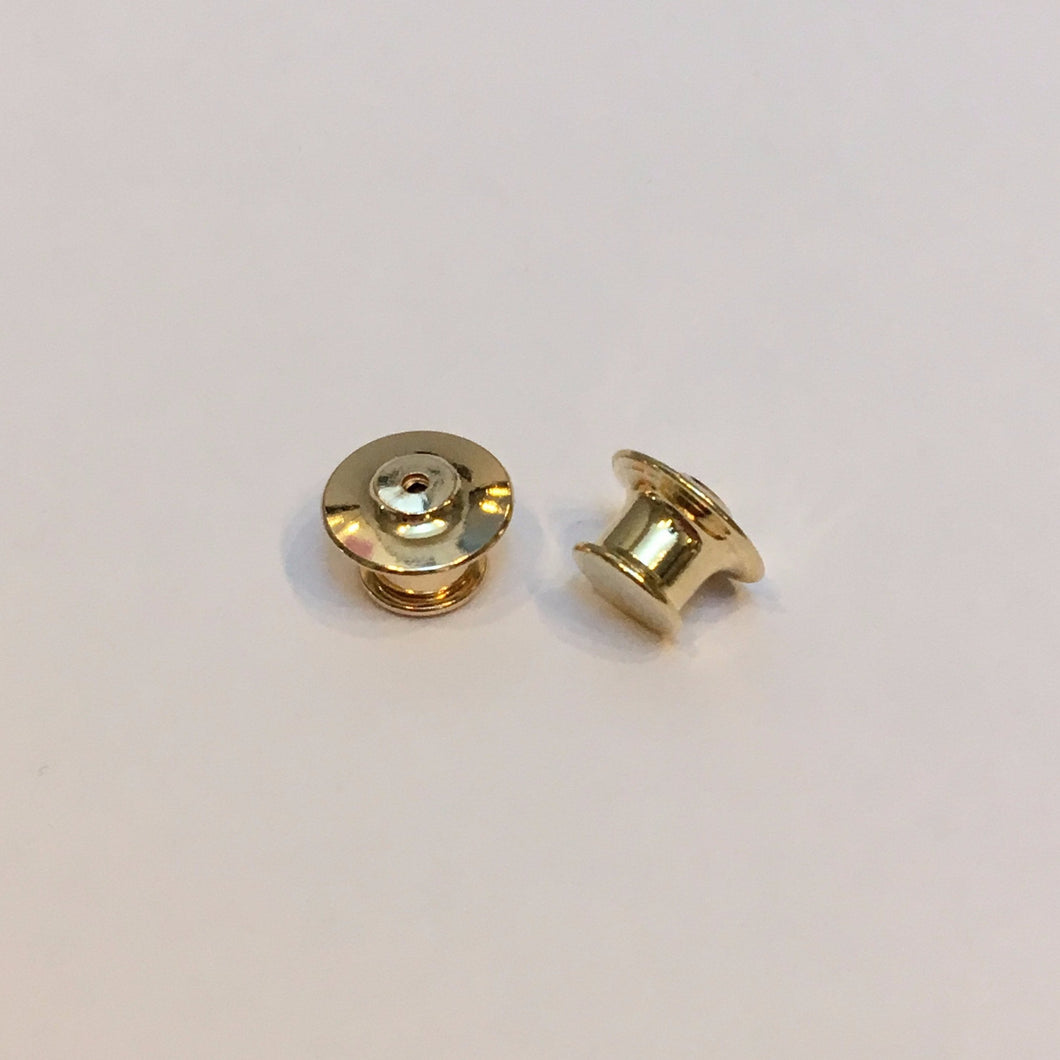Locking pin backs - set of 2