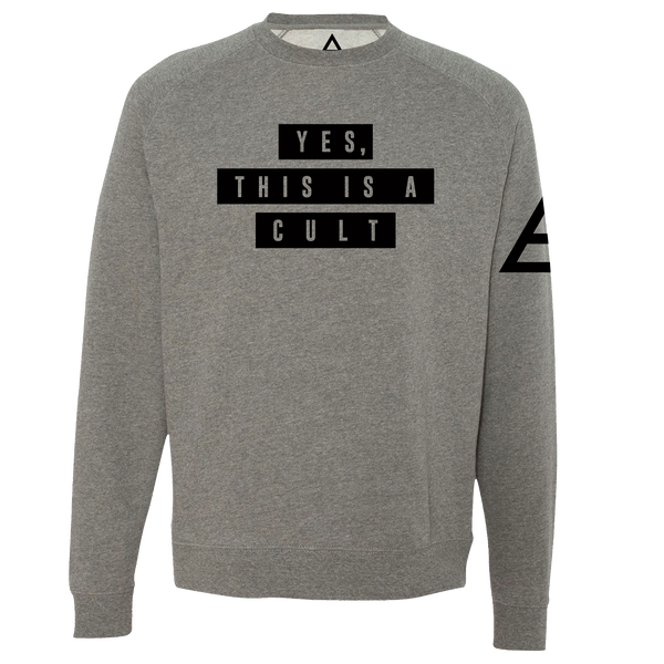 Yes, This Is A Cult Pullover Sweatshirt
