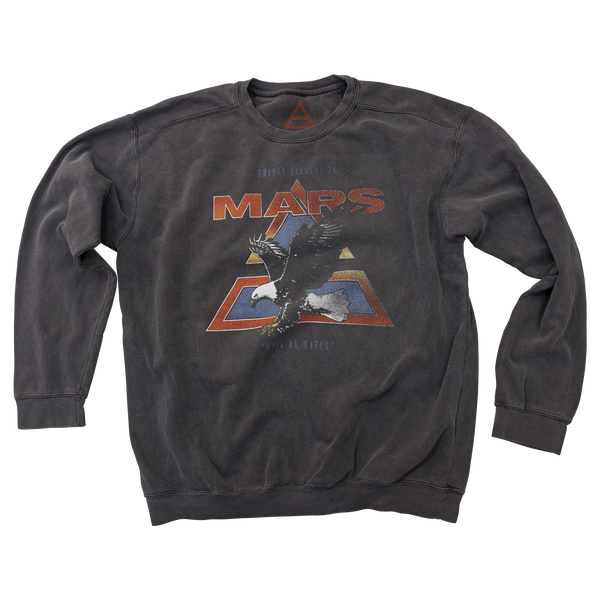 Vintage Walk On Water Eagle Sweatshirt