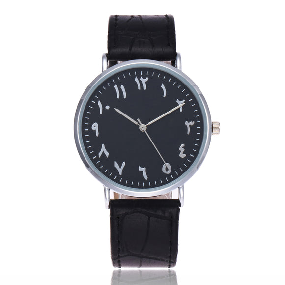 Monochrome - Arabic Watch - 2 Styles