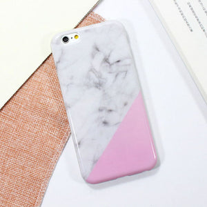 Gloss - Geometric Marble iPhone Cases
