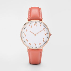 Pumpkin - Arabic Watch