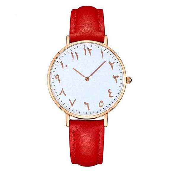 Rouge - Arabic Watch - 3 Styles