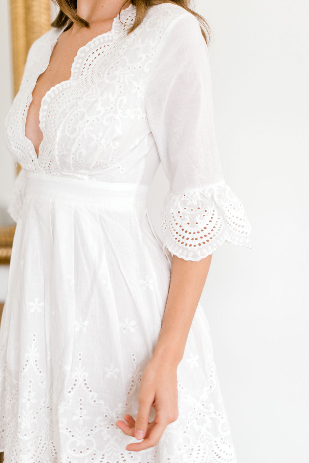 This Will Be Eyelet Dress