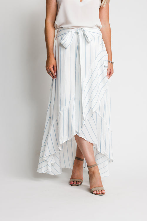 Shaleigh Striped Maxi Skirt