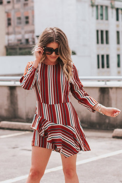 Napa Striped Romper